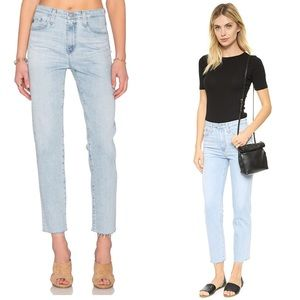 AG The Phoebe High Waisted Tapered Jean Size 29